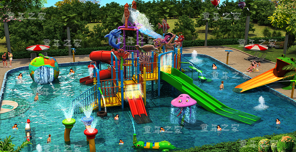 Aqua park water park slides,water play structure in Guangzhou