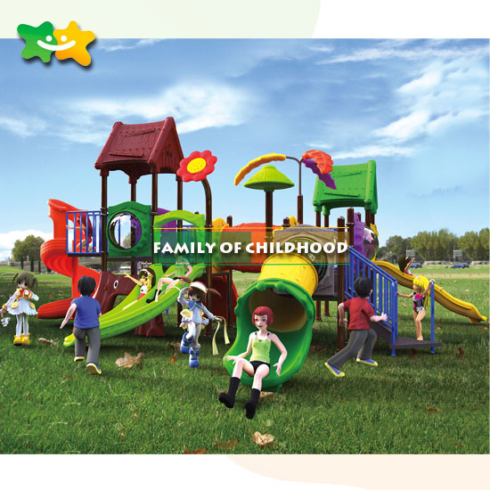commercial children playground equipment outdoor slide for kids guangdong family of childhood. Black Bedroom Furniture Sets. Home Design Ideas