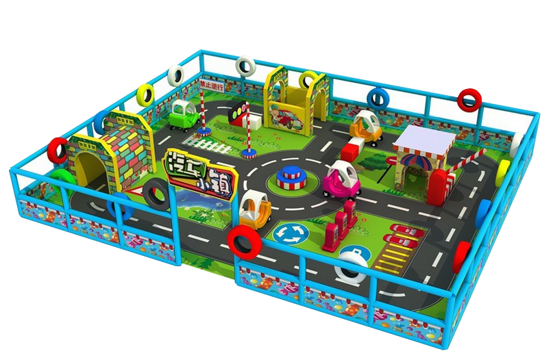 home use funny kids indoor Labyrinth amusement park games with slides