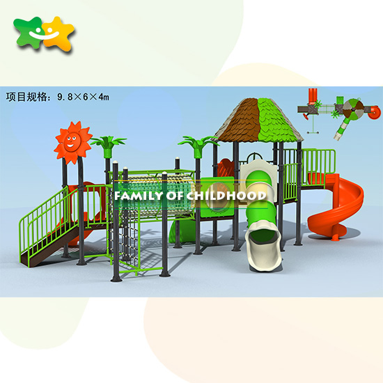 Outdoor Play Equipment: Preschool Children Outdoor Playground Equipment LLDPE With