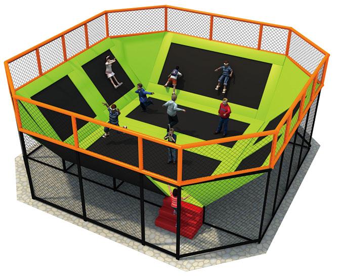 Trampolines Playground