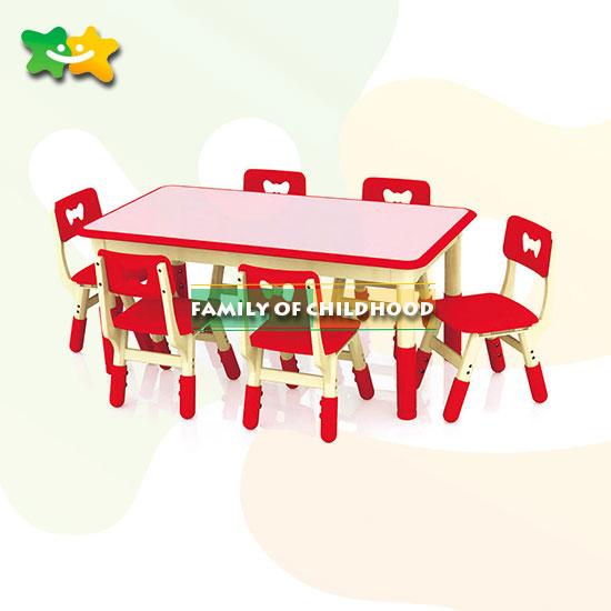 Plastic table set