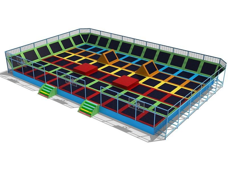 Big trampolines park