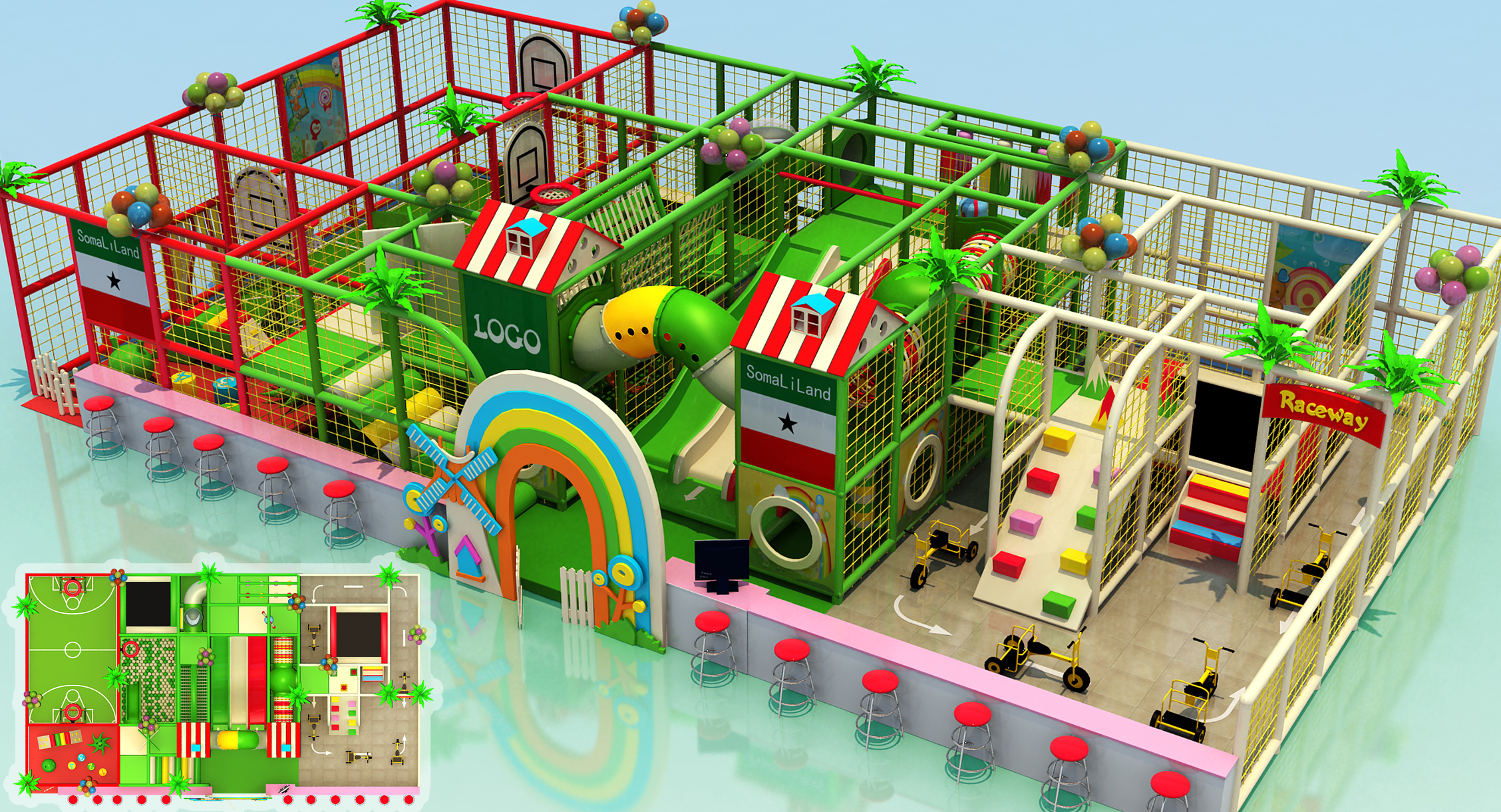 Ihram Kids For Sale Dubai: Indoor Playground Game Ocean Theme With Ball Pool