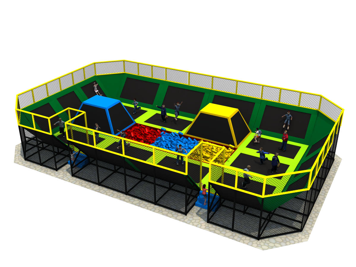 Trampoline Equipment,indoor trampoline house for children to play
