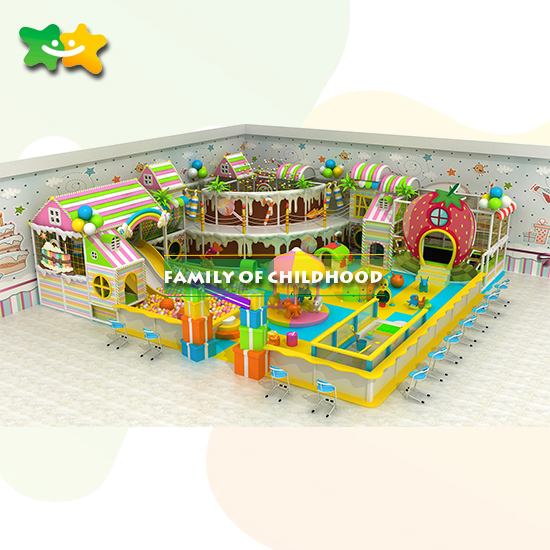 commercial indoor soft playground equipment for Guangzhou factory