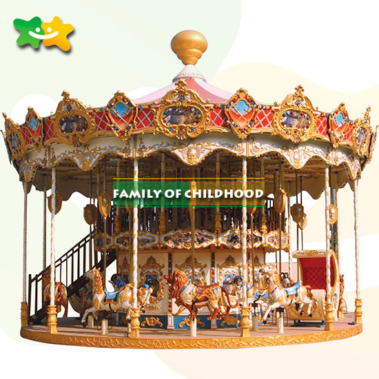 Double layer carousel