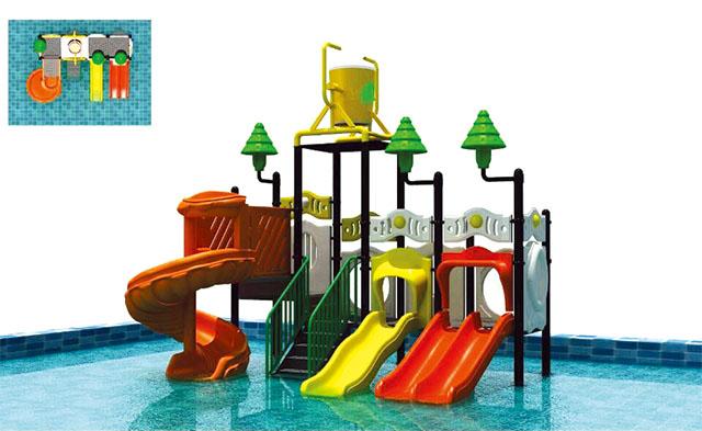 Amusement water slides
