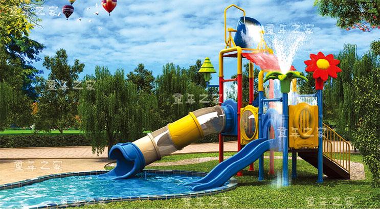 Pool water slide equipment ,water park for fun