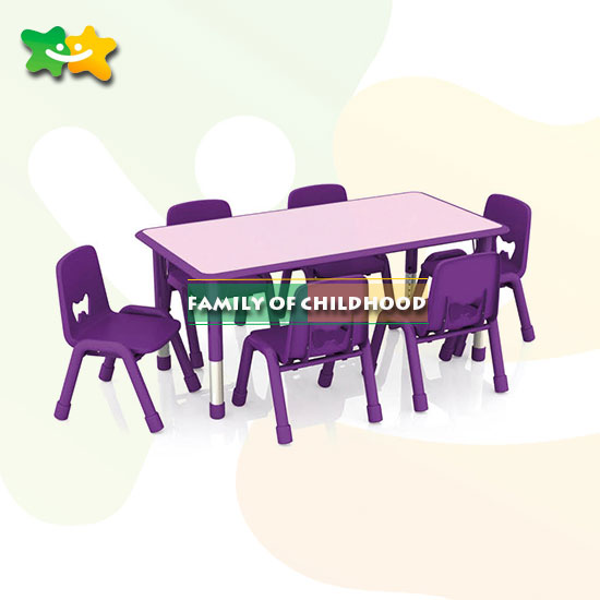 Plastic table set