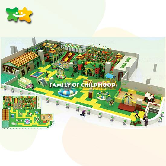 Large playground slide