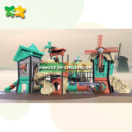 plastic playhouse slide