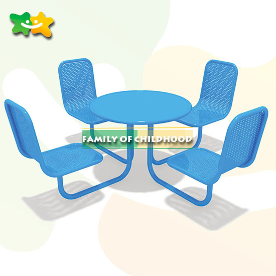 Park Benches,outdoor leisure chair,4 seats iron outdoor benches