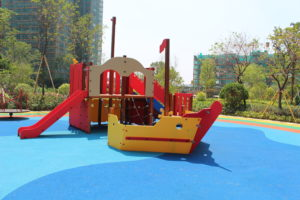 outdoor park playground ,playground equipment project