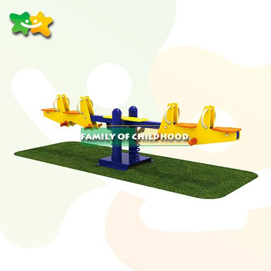 Children Seesaw ,children playground seesaw.Spring Rider Seesaw