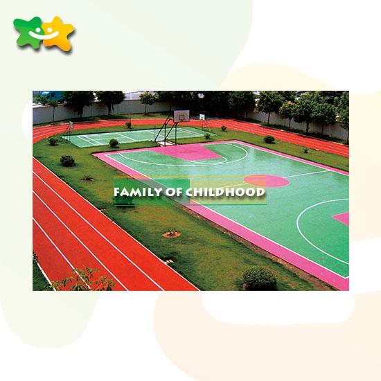 outdoor playground S P U mat