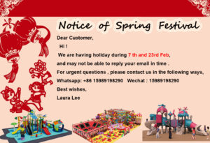 Notice of Spring Festival