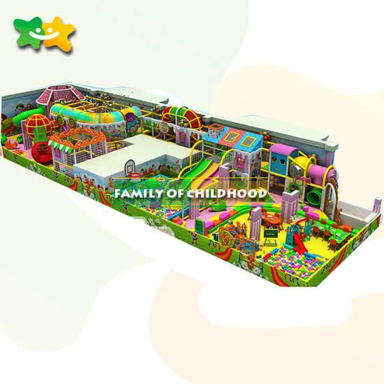 Amusement indoor playground
