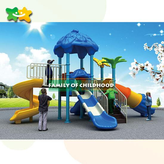 outdoor playground area