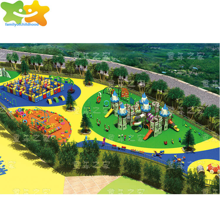 aluminum playground slide