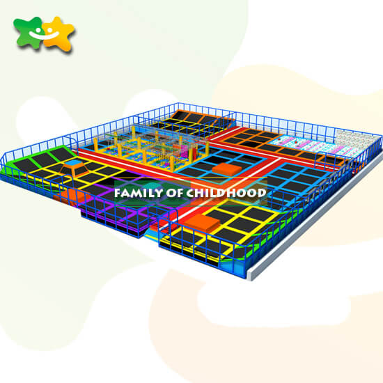 indoor playground trampoline,trampoline equipment,family of childhood