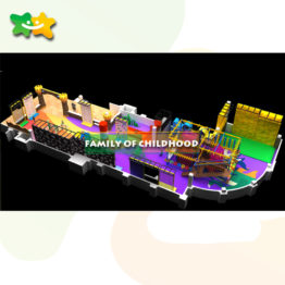 bungee trampoline ,trampoline park,family of childhood