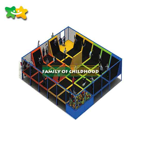 big trampoline,indoor trampoline park equipment,family of childhood