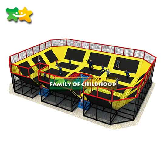 Fitness Trampoline Park Equipment Factory Pirce