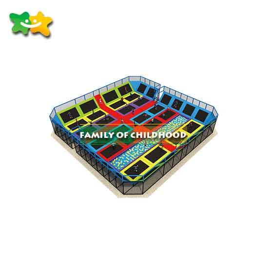 squaretrampoline,commercial trampoline park equipment,family of childhood