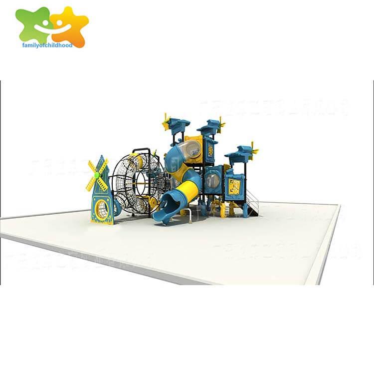 Windmill series slide,kids large plastic slide,familyofchildhood