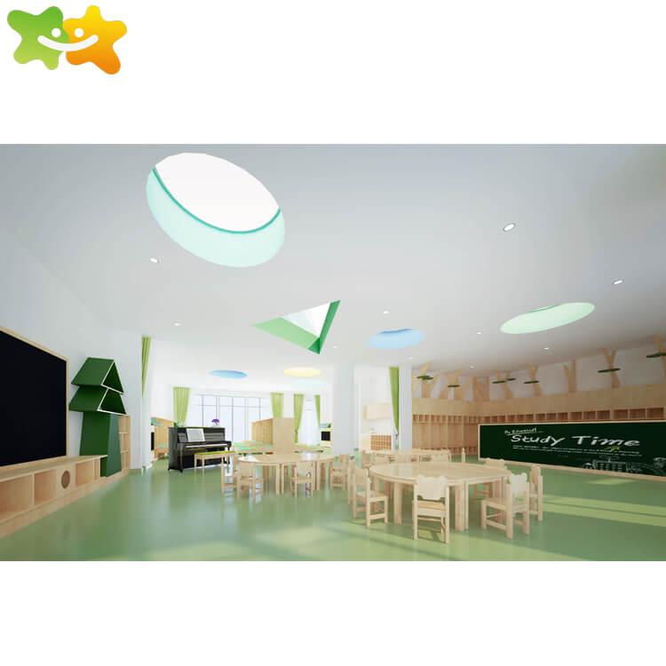 Good quality international kindergarten school music room furniture set,family of childhood