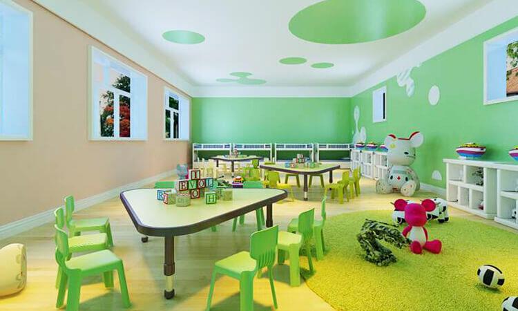 kids study classroom,preschool furniture set,family of childhood