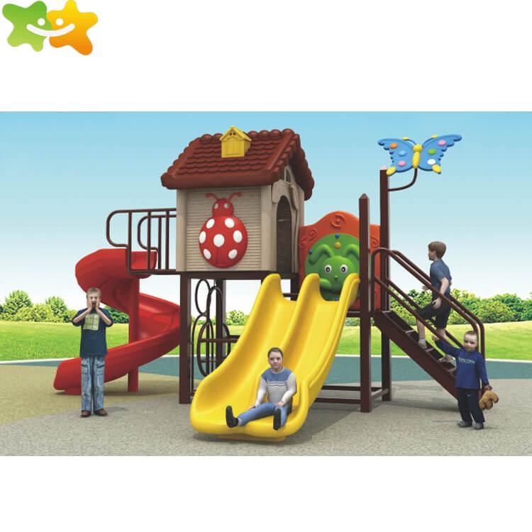 Amusement park kids playground outdoor slide equipment for sale