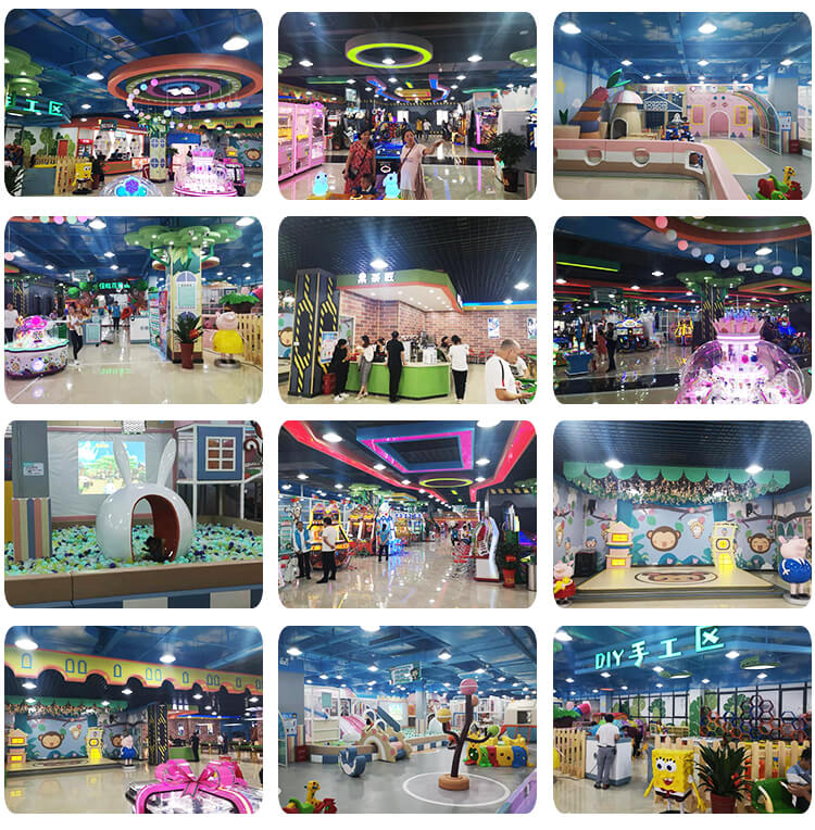 Commercial children soft play area candy theme kids indoor playground for sale