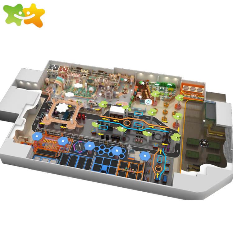 Amusement park children games toys indoor playground equipment for sale